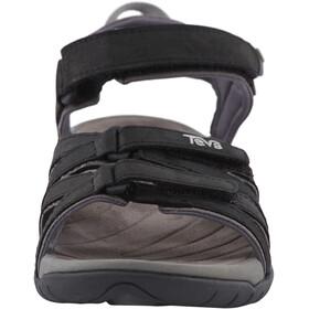 Teva Tirra Leather Sandals Dame black